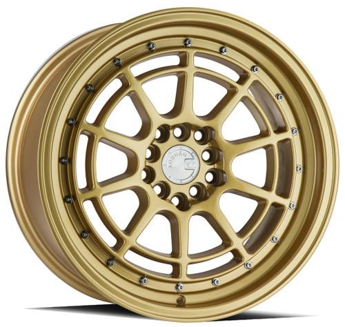 AodHan AH04 18x9.5 5x114.3 +30 73.1 Full Gold