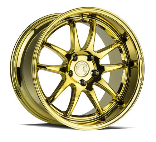 Aodhan DS02 18x9.5 5x114.3 +30 73.1 Gold Vacuum