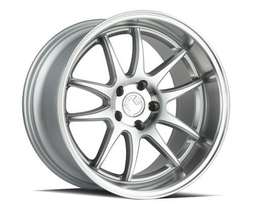 AodHan DS02 18x8.5 5x114.3 +35 73.1 Silver w/Machined Face