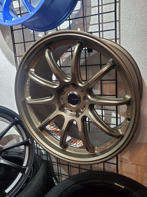AVID 1 AV40 18x9.5 5x114.3 +22 Matte Bronze