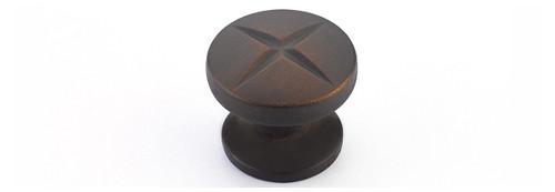Round X Knob