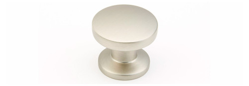 Round Flat Knob