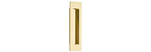 """6"""" Modern Rectangular Flush Pull"""