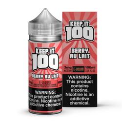 Keep It 100 Strawberry Milk 100ml eJuice
