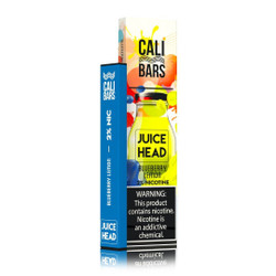 Juice Head Cali Bars Blueberry Lemon Disposable Vape Pod | Juice Head Disposable Device