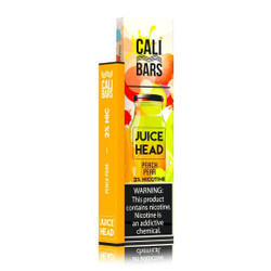 Juice Head Cali Bars Peach Pear Disposable Vape Pod