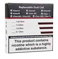 Innokin iClear16 Dual Replacement Coil - 5PK | Innokin Replacement Coil
