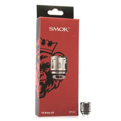 Smoktech TFV8 Baby Q4 Replacement Coil - 5PK | SMOK Replacement Coil