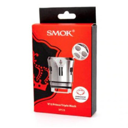 Smoktech TFV12 Prince Triple Mesh Replacement Coils - 3PK | SMOK Replacement Coil