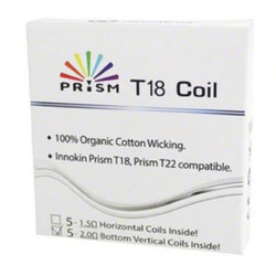 Innokin Prism / T18 / T22 Replacement Coil - 5PK | Innokin Replacement Coil