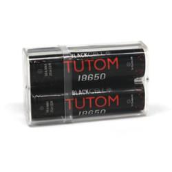 Blackcell 18650 Tutom Battery - 2PK | Blackcell Battery