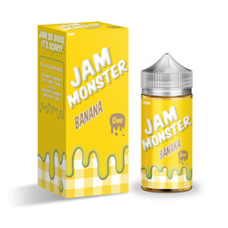 Jam Monster Banana 100ml eJuice