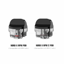 SMOK NORD X Empty Pod Cartridge - 3PK