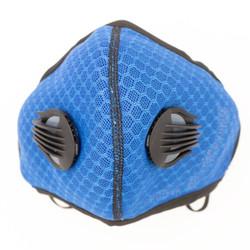 Blue Neoprene Sport Valved Carbon Mask Ear-Loop Version - 1PK