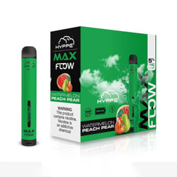 HYPPE MAX Flow Watermelon Peach Pear Disposable Vape Device