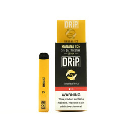 Drip Bar Banana Ice Disposable Vape Device