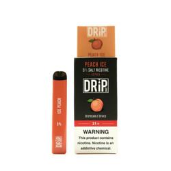 Drip Bar Peach Ice Disposable Vape Device