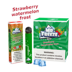 Mr.Freeze Max Strawberry Watermelon Frost Ice Disposable Vape Device