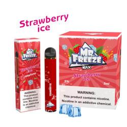 Mr.Freeze Max Strawberry Ice Disposable Vape Device