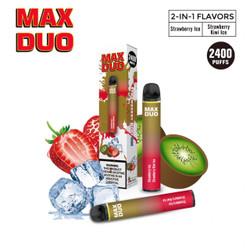 Mr.Freeze Max Duo Strawberry Iceberg & Strawberry Kiwi Iceberg Disposable Vape Device