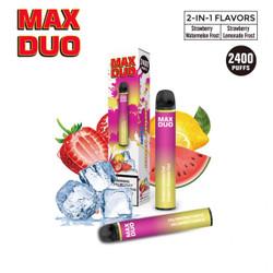 Mr.Freeze Max Duo Strawberry Lemonade Iceberg & Strawberry Watermelon Iceberg Disposable Vape Device