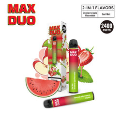 Mr.Freeze Max Duo Cool Mint & Strawberry Apple Watermelon Disposable Vape Device