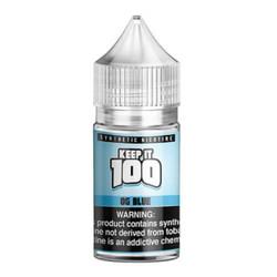 Keep it 100 OG Blue Salt Synthetic Nicotine 30ml E-Juice