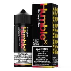 Humble Donkey Kahn 120ml Tobacco Free Nicotine E-Juice