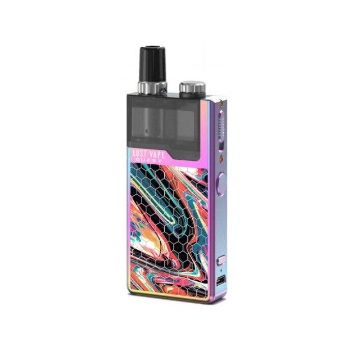 Lost Vape Q Pro Kit Purple Resin