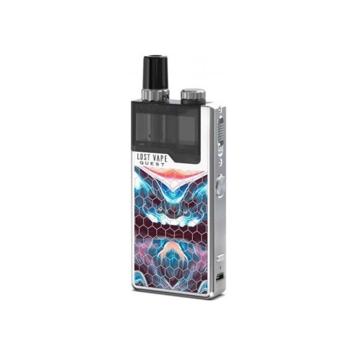 Lost Vape Q Pro Kit Blue White Resin