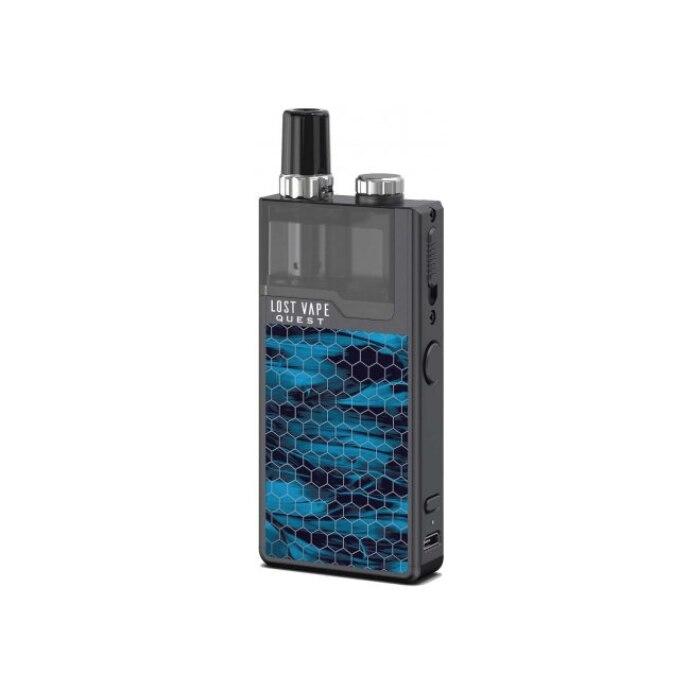 Lost Vape Q Pro Kit Blue Camouflage