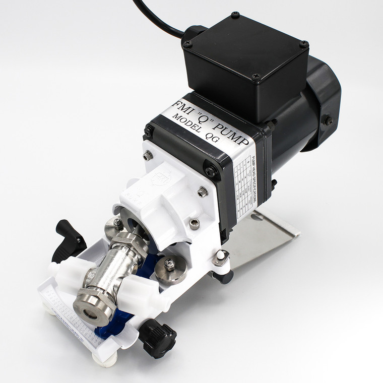 Equipped with a rugged, high speed TEFC motor, the QG250-Q2SAN pump is designed for general lab and industrial use.