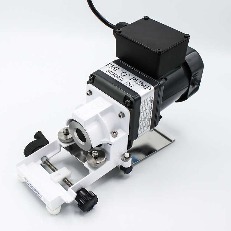 The QG250 Pump Head offers a high degree of accuracy and are used in a wide variety of applications where precision is required.