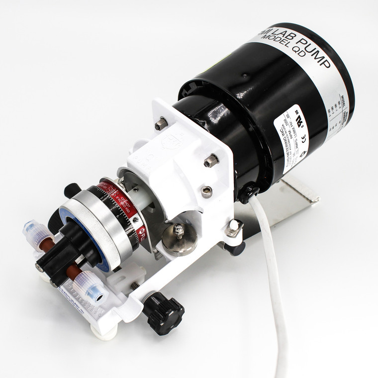 Ideal for general lab and industrial use,  the QD-RH0CTC Pump features the RH0 Piston delivering up to 86.25 ml/min at 6.9 bar max pressure.
