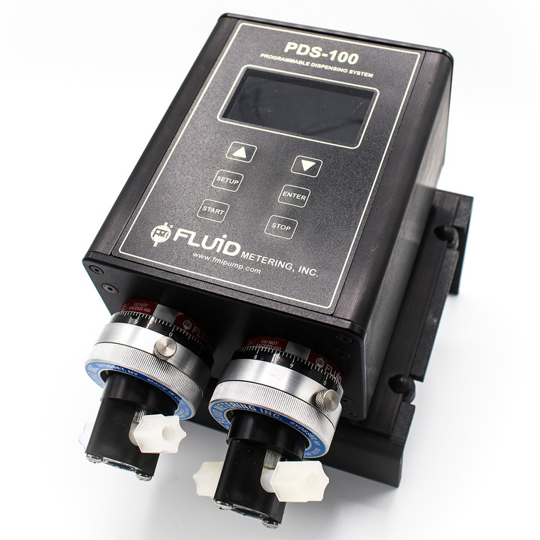 The PDS100-2RH-RH00SKY is a programmable precision dispenser.