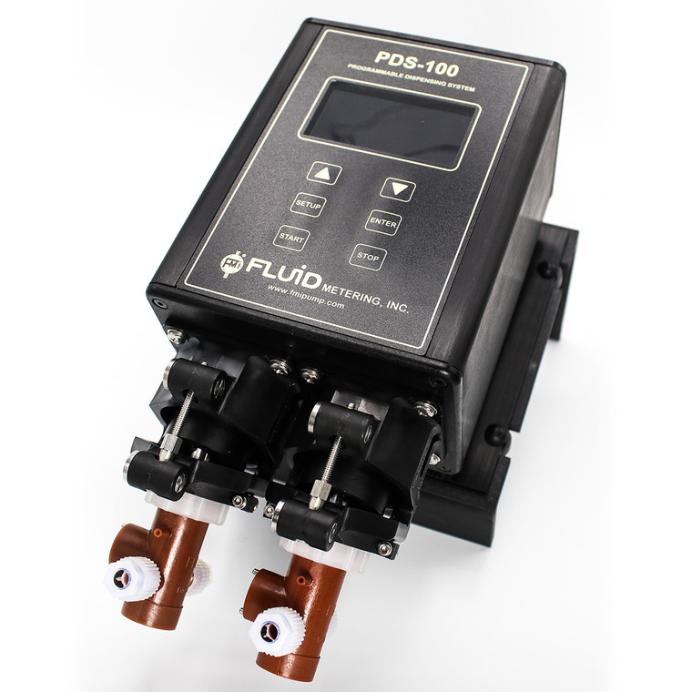 The PDS100-2STQ-Q1STY is a programmable precision dispenser.