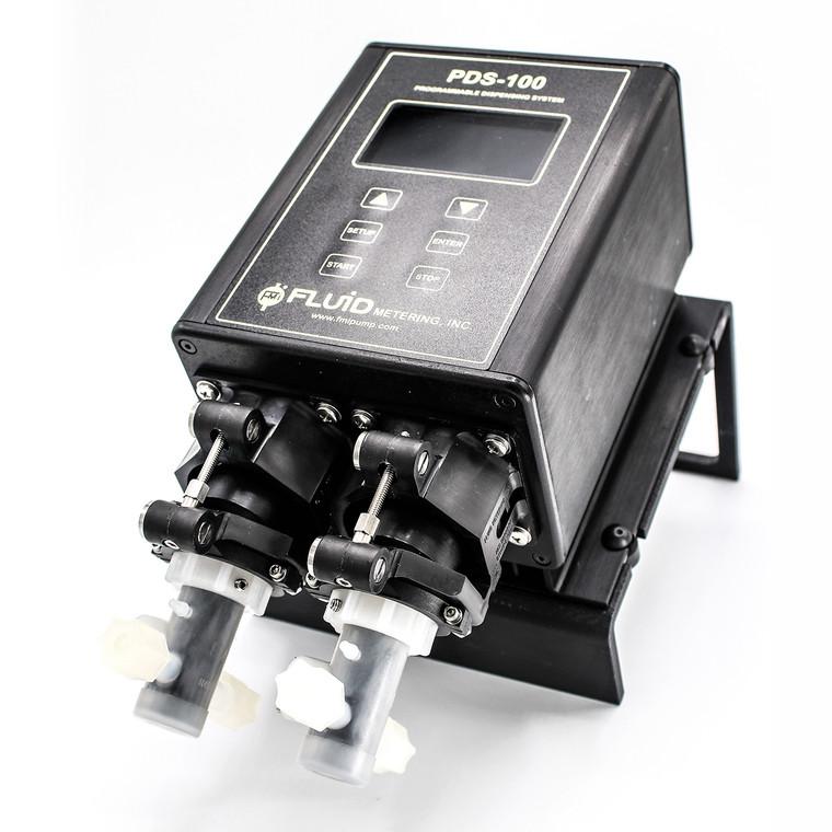 The PDS100-2STQ-Q2SKY is a programmable precision dispenser.