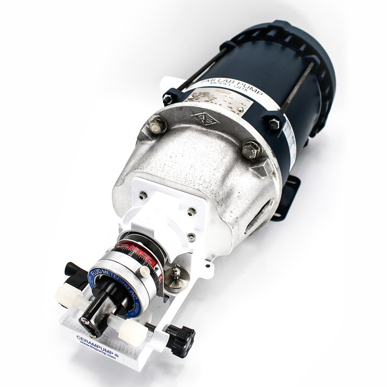 The QDX-RH0CKC Hazardous Duty pump is designed for use in hazardous commercial, industrial, and laboratory applications.