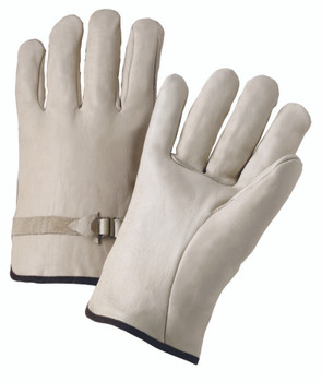 4000 Series Cowhide Leather Driver Gloves (XL): 4100XL