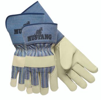 Grain Leather Palm Gloves (Large): 1935L