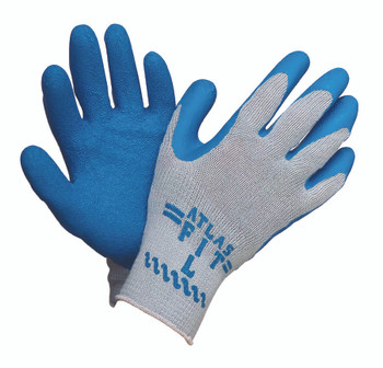 Atlas Fit Gloves (Rubber Coating): 300-L