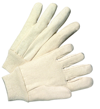 Anchor 1000 Series Canvas Gloves (White): 1110