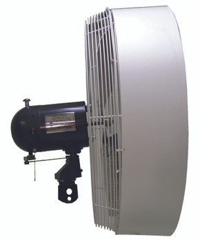 TPI Portable High Pressure Misting Fan Heads (24 in.): HPM24H