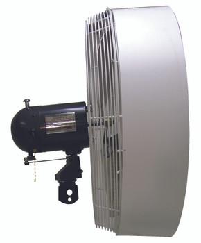 TPI Portable High Pressure Misting Fan Heads (24 in.): HPM24H-O