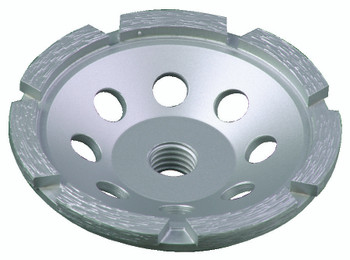 Diamond Single Row Cup Wheels (7 in.): SPPGC7SN