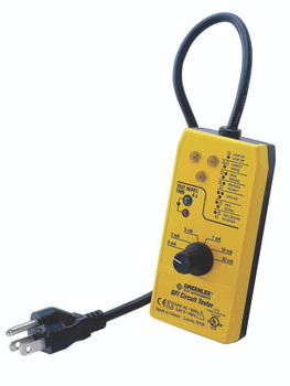 GFCI and Circuit Testers (120 V): 5708