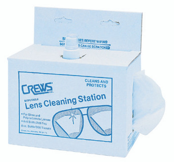 Crews Disposable Lens Cleaning Stations: LCS1