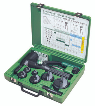 Quick Draw Hydraulic Punch Kits: 7804-SB