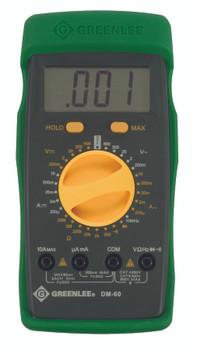 Manual Ranging Multimeters: DM-60