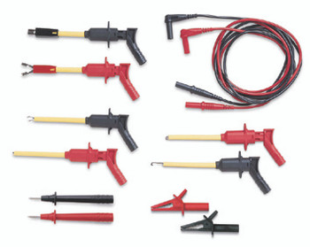 Deluxe Electrical Test Lead Kits: TDTLK